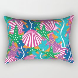 Beaching Rectangular Pillow