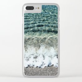 Clear Captiva Waves Clear iPhone Case