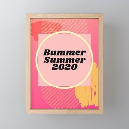 Summer 2020 Framed Mini Art Print