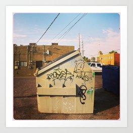 Dump Art Print