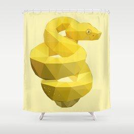 Viper Snake. Shower Curtain