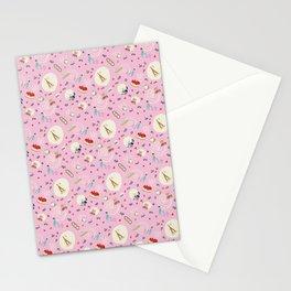 Paris pattern Stationery Cards