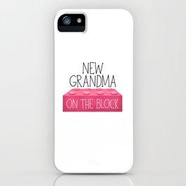 New Grandma On The Block iPhone Case