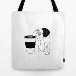 Coffee, First Tote Bag