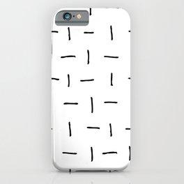 Flip Flop Lines iPhone Case