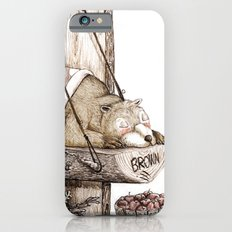 Mr.Brown is asleep. Slim Case iPhone 6s