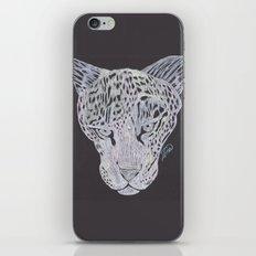 Leopard Gaze iPhone & iPod Skin