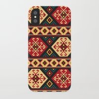 kilim iPhone & iPod Cases featuring Colorful Kilim by Pattern Design