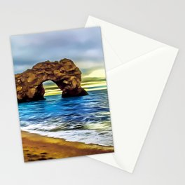 Durdle Door (Painting)  Stationery Cards
