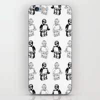 c3po iPhone & iPod Skins featuring C3PO by TASHIMARO