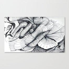 bio grid Canvas Print
