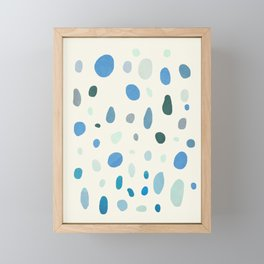 Rain Drops Framed Mini Art Print