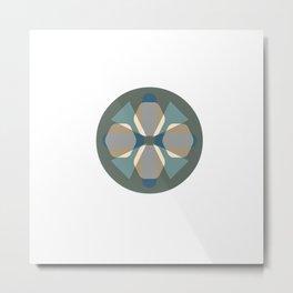 Infinite Portals Metal Print