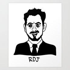RDJ Art Print