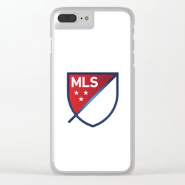 MLS LOGO Clear iPhone Case