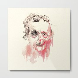 Poe Metal Print