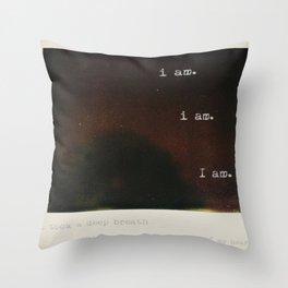 plath Throw Pillow