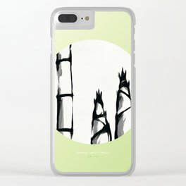 [5.15—5.20] Bamboo Shoots Sprout Clear iPhone Case
