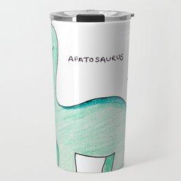 Apatosaurus Dinosaur Travel Mug