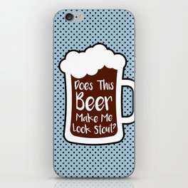 Beer Stout iPhone Skin