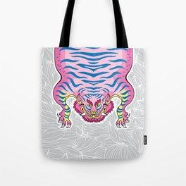 TIBETAN TIGER - CANDY (white) Tote Bag