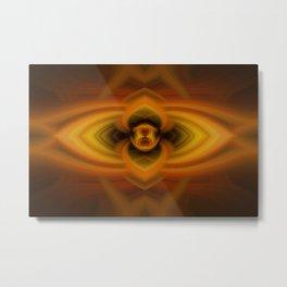 Fire Eye Metal Print