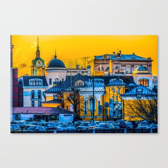 Urban Mix Canvas Print