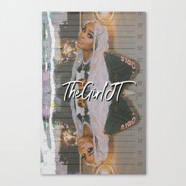 TheGirlJT  Canvas Print
