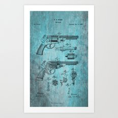 Storm Starr Revolver  Art Print