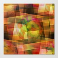 geo Canvas Prints featuring Geo by Christine baessler