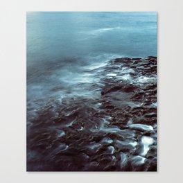 Tidal Erosion Canvas Print