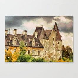 Château de Fallais Canvas Print