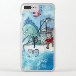 Nice Catch Clear iPhone Case