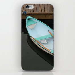 Pale blue serenity iPhone Skin