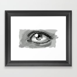 An Eye for an Eye Framed Art Print