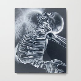Breathing X-Rays Metal Print