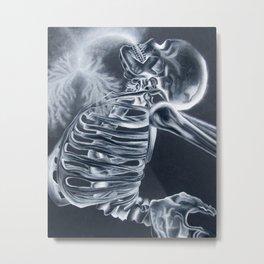 Breathing X-Rays Metal Print