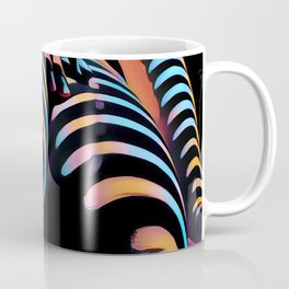 1937s-AK Striped Woman Hand Down Back Bum Butt Abstract Nude Female Ass Coffee Mug