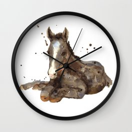 Graceful Grey Wall Clock