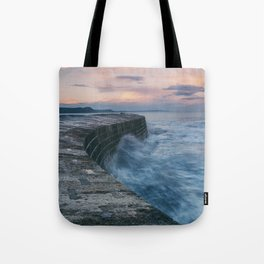 Sunset Over the Cobb II Tote Bag