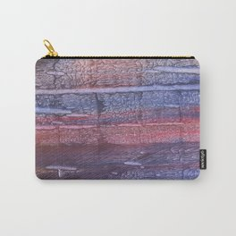 Red Blue Carry-All Pouch