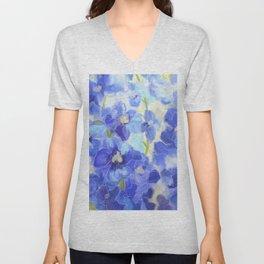 What You Always Wanted - Delphinium Blue Unisex V-Neck
