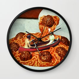 Meatballs Wall Clock