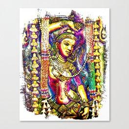 Siam Culture Feature. Canvas Print