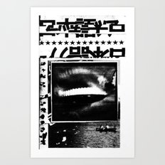 STAR TOURS 1  Art Print