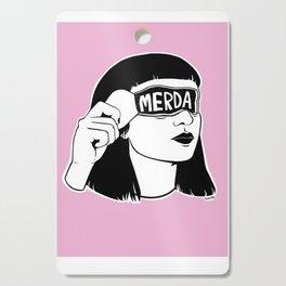 M.e.r.d.a. Cutting Board