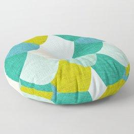 Snake Maze Sage Floor Pillow