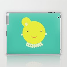 MISS SUNSHINE IN PEARLS Laptop & iPad Skin