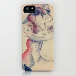 Inked in Place iPhone Case