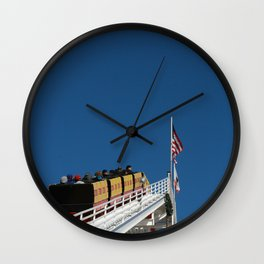 Santa Monica Pier, coaster Wall Clock
